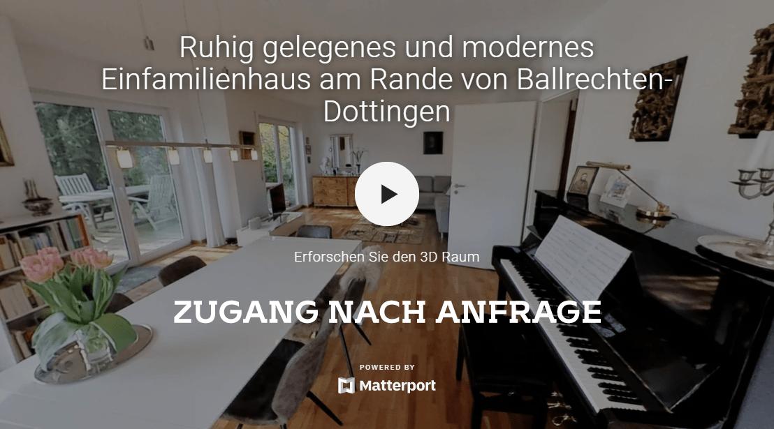 REFERENZ: MODERNES EINFAMILIENHAUS RUHIG GELEGEN AM RANDE VON BALLRECHTEN-DOTTINGEN